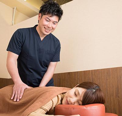 腰痛の施術経験が豊富 あなたの腰痛を解消します